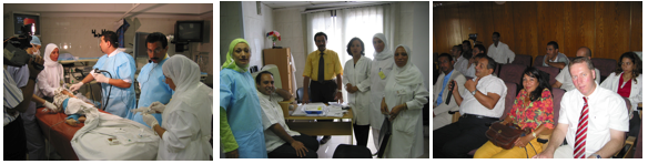 Bilder aus dem WS Pediatric Endoscipy 2006